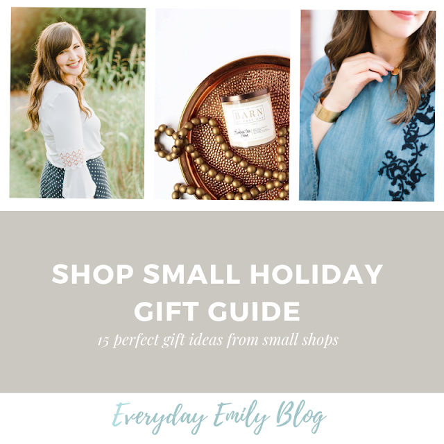 shop small holiday gift guide greenville south carolina fashion lifestyle blogger everyday emily 2018