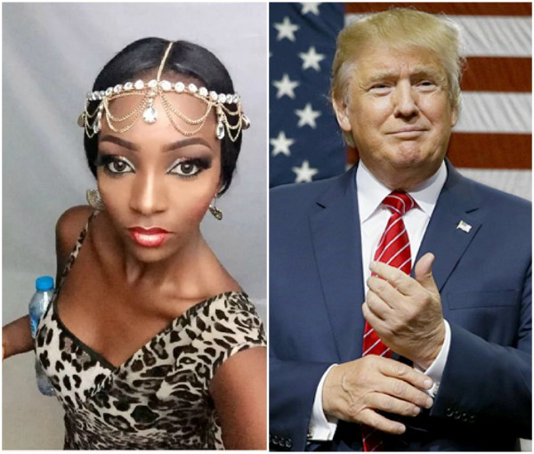 Miss Nigeria open letter to Donald Trump