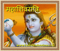 Maha Shivaratri hindi wishing wallpaper