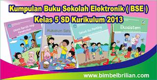 Kumpulan Buku Sekolah Elektronik ( BSE ) Kelas 5 SD Kurikulum 2013