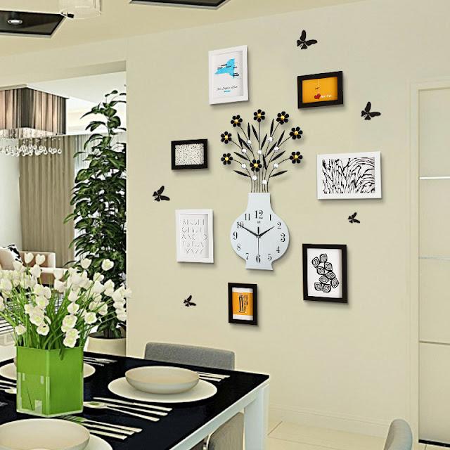 Đồng hồ trang trí treo tường Deco DHNL318