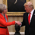 MPNAIJA gist:Donald Trump and Theresa May agree to delay Trump's visit to Britain in order to avoid protest