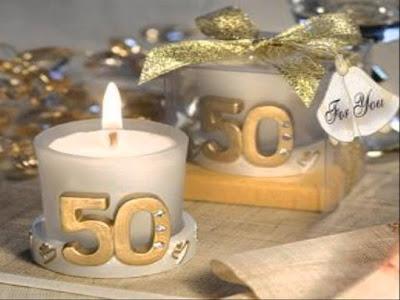 déco table noces d'or