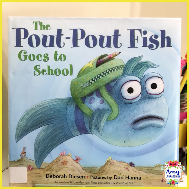 Click here to find ideas for teaching children about how special they are, learning and new classroom cheer and finding the lesson of a story.  Included are ideas and  an anchor chart for the very engaging book Pout Pout Fish Goes To School.  Get your back to school plans ready.   Perfect for elementary classrooms and homeschool children.  {kindergarten, first, second, k, 1st, 2nd}