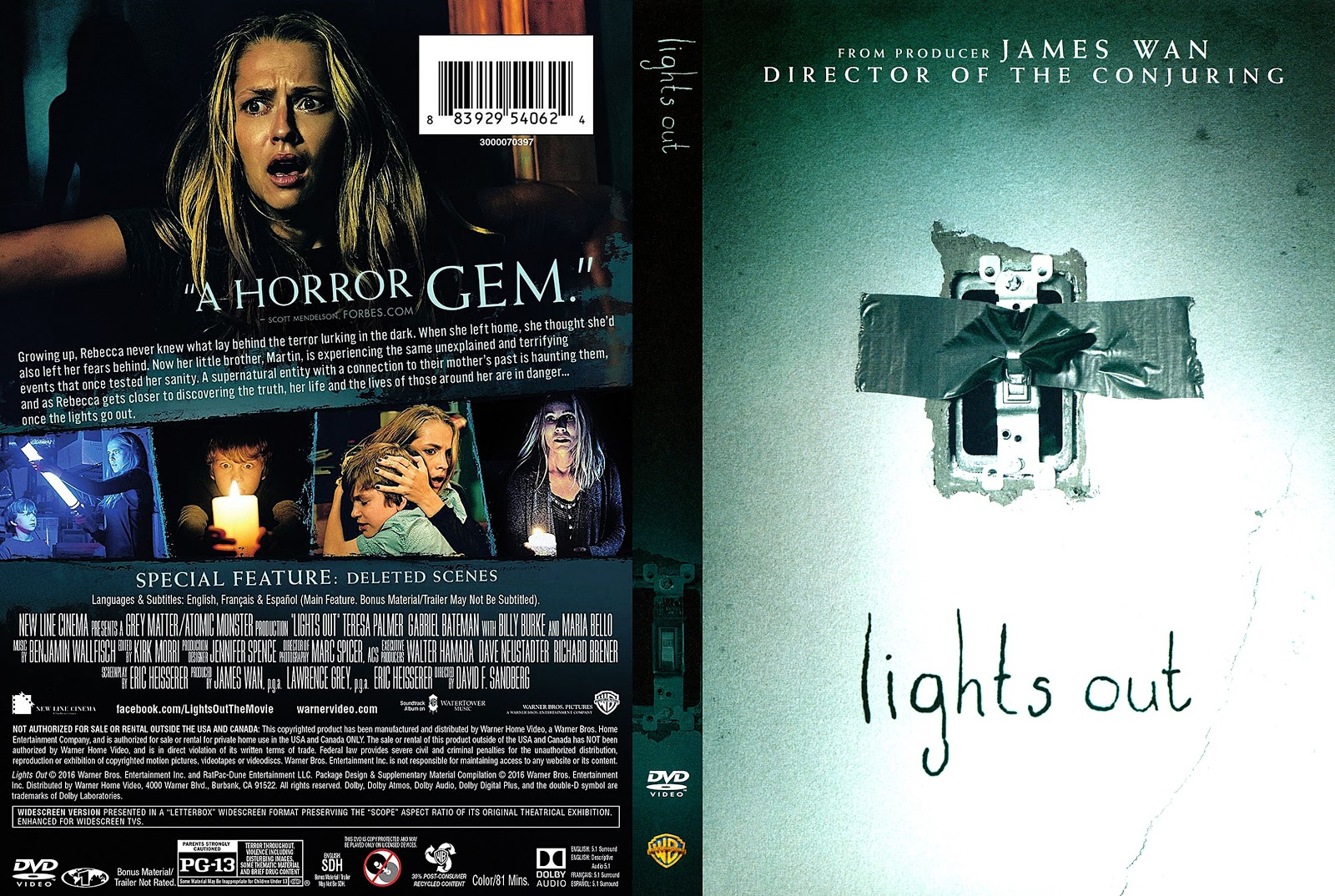 Lights Out Dvd Cover Addict