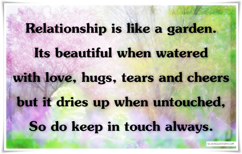 Relationship Is Like A Garden, Picture Quotes, Love Quotes, Sad Quotes, Sweet Quotes, Birthday Quotes, Friendship Quotes, Inspirational Quotes, Tagalog Quotes