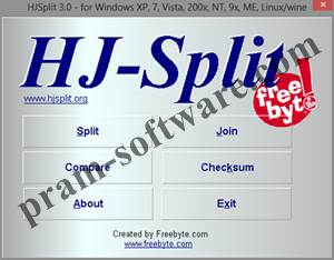 ScreenShot HJSplit