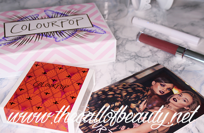 Make Up Haul: ColourPop