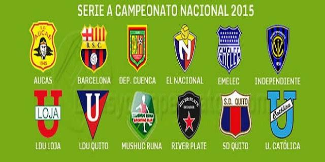 resultados partidos campeonato ecuatoriano futbol