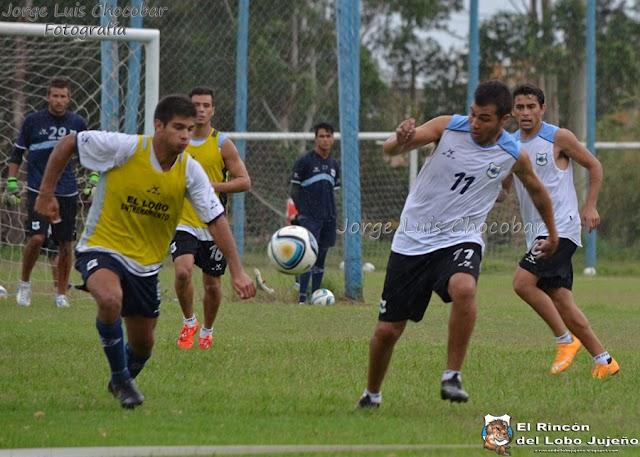 Gimnasia realizó la práctica de fútbol