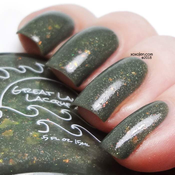 xoxoJen's swatch of Great Lakes Lacquer Then It Is Forfeit