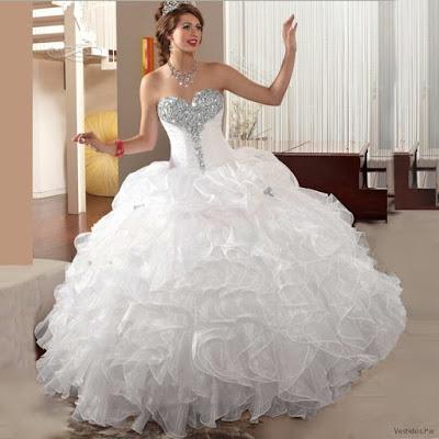 Vestidos de XV Blancos