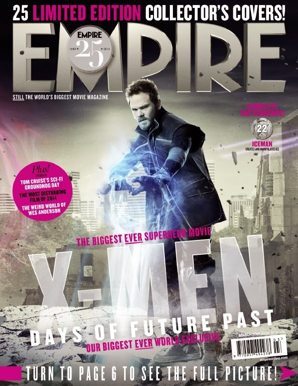 Empire covers X-Men: Days of Future Past: Iceman