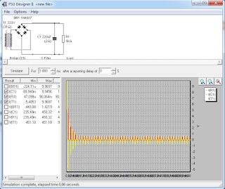 Screenshot 2: PSU Designer II