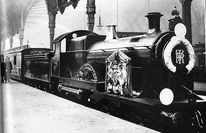 GWR funeral train for Queen Victoria