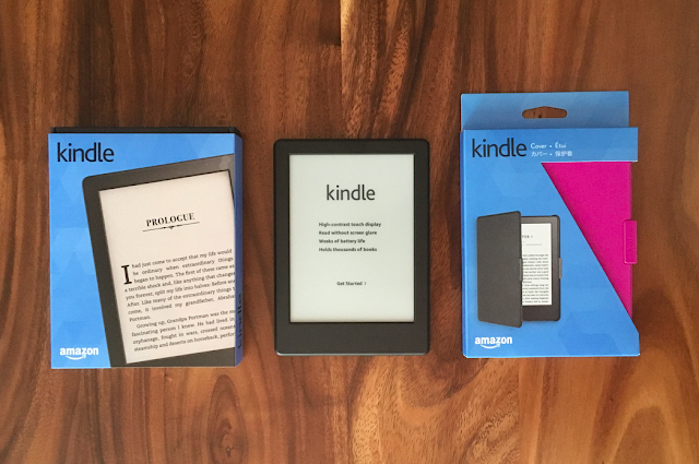The all-new Kindle E-reader plus case