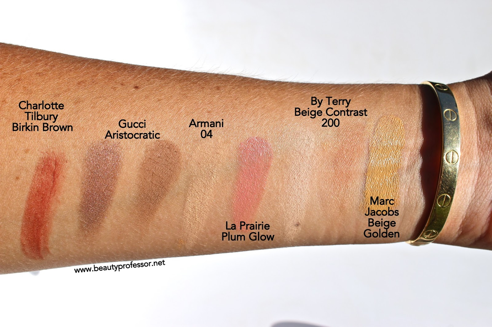 6e96b159946394 Marc Jacobs Re(Marc)Able Full Coverage Foundation Concentrate--Swatches of  12 Shades!   Beauty Professor   Bloglovin