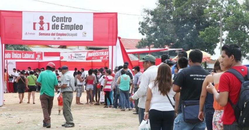 Más de 600 puestos de trabajo formal ofrecen en feria laboral en Ucayali