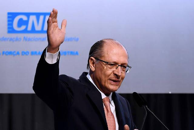 Sabatina de Geraldo Alckmin na Confederação Nacional da Indústria (CNI)