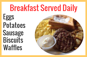 Guests: Start Your Day Right with Hot Breakfast!
