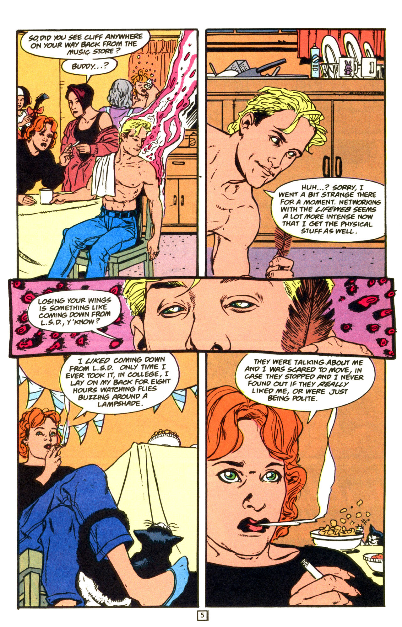 Read online Animal Man (1988) comic -  Issue #68 - 6