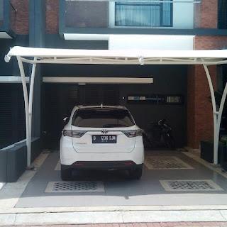 jasa pembuatan canopy membrane