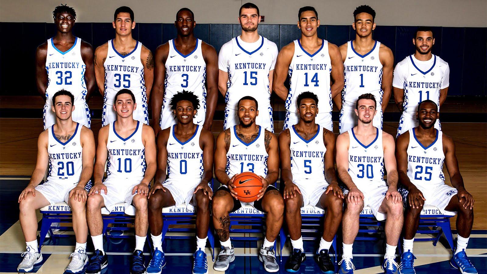 2014-15 Kentucky Wildcats Men's Basketball Team