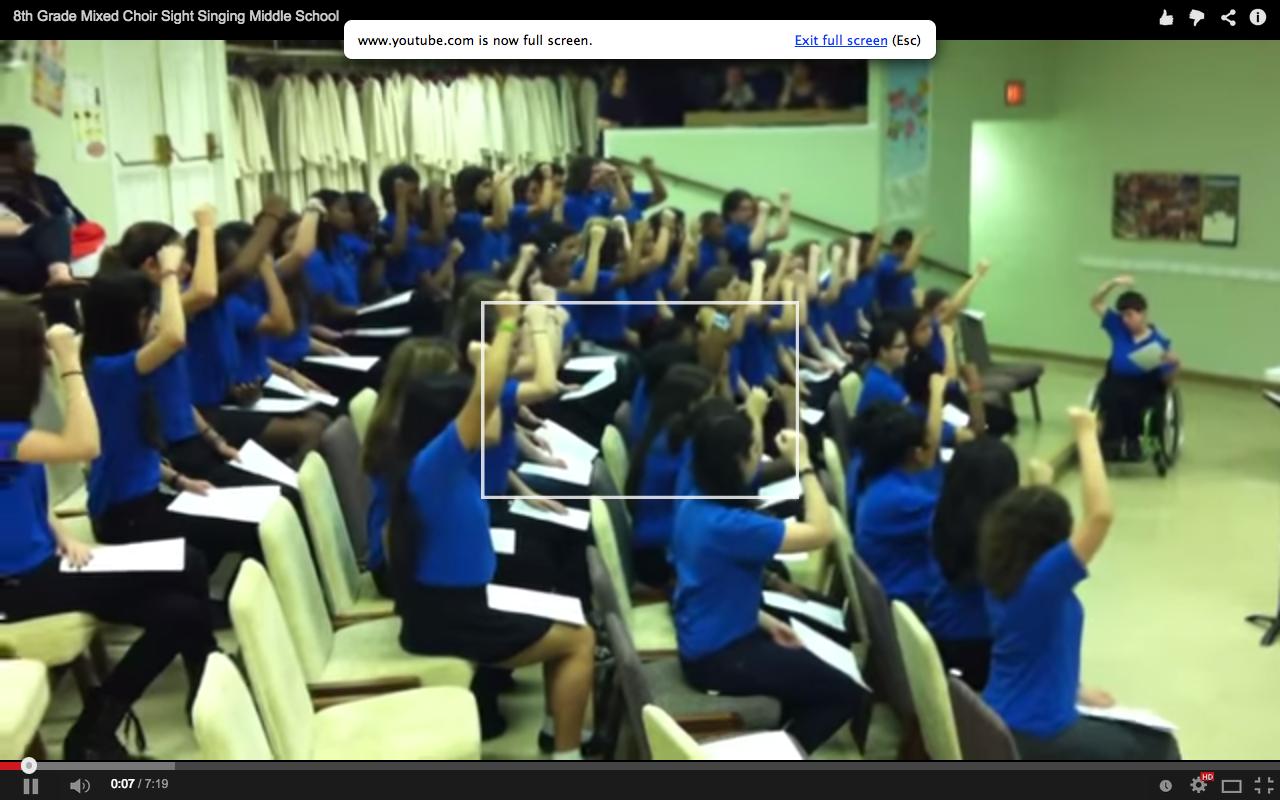 audience full screen