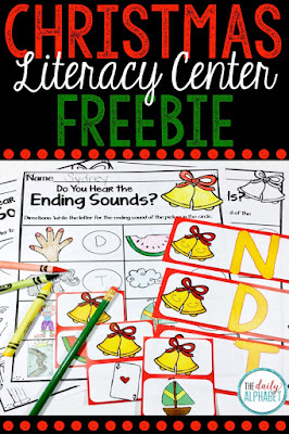Listening for the final sound in a word is a difficult but crucial skill that students need to learn. This freebie center provides great practice!