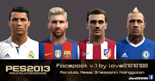 PES 2013 facepack v.1 by love01010100