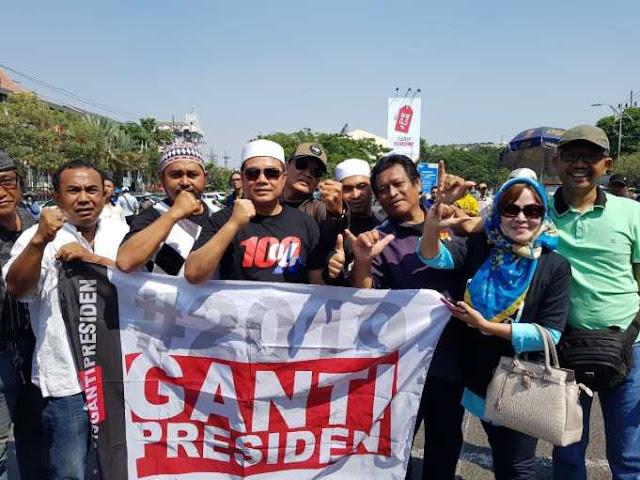 Penggagas #2019GantiPresiden: BIN Dekat dengan Salah Satu Parpol