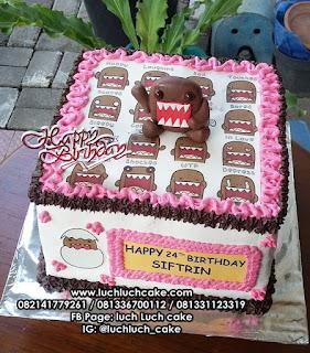 Kue Tart Ulang Tahun DOMO