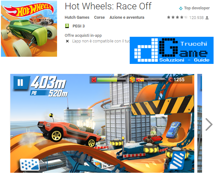 Trucchi Hot Wheels: Race Off Mod Apk Android v1.0.4666
