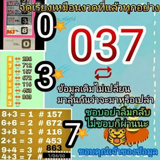 เลขเด่น  037