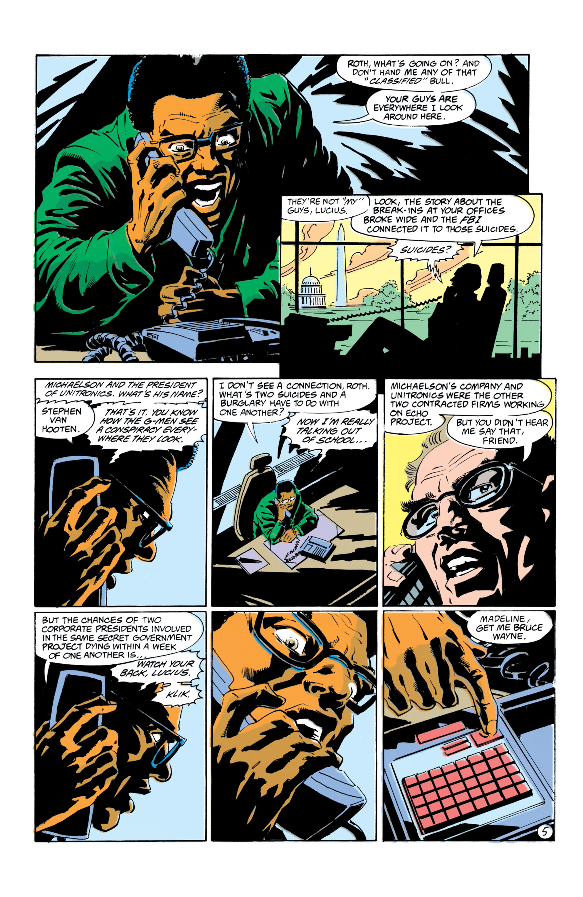 Detective Comics (1937) 658 Page 5
