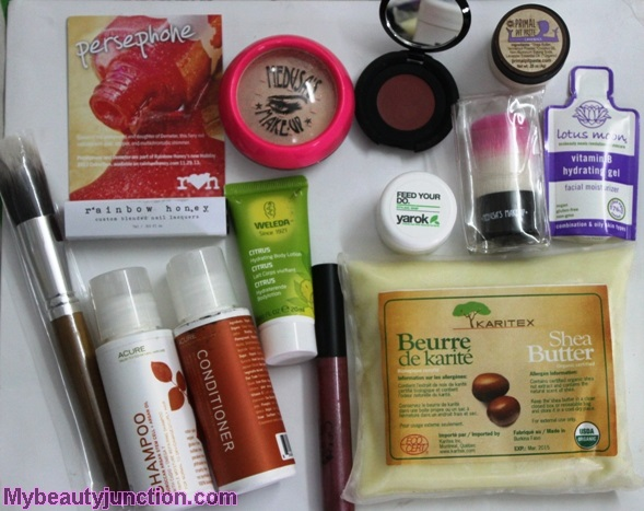 Vegan Cuts Beauty Essentials box review, unboxing