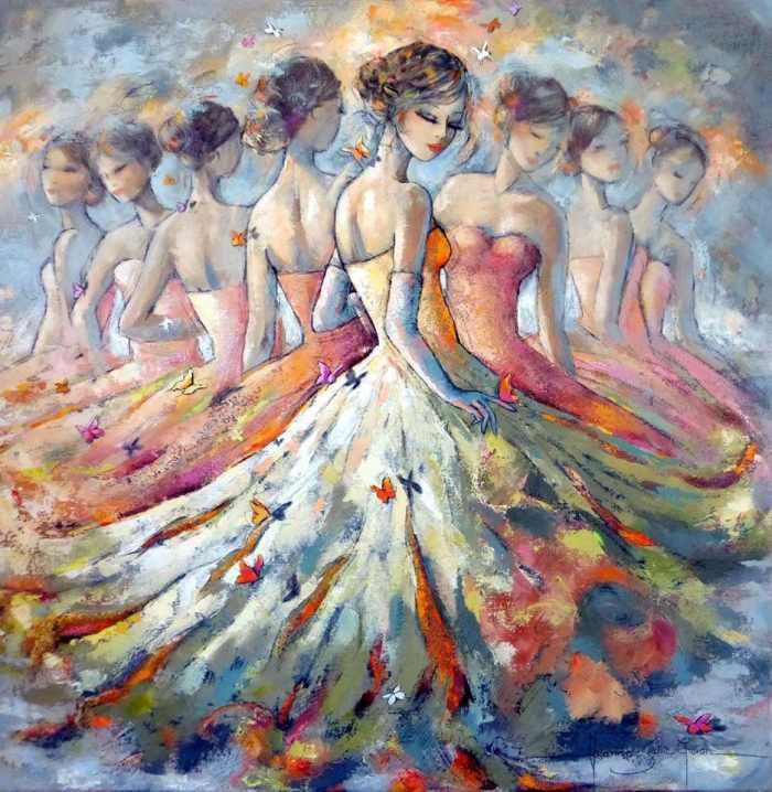 Сказочные картины. Jeanne Saint Cheron