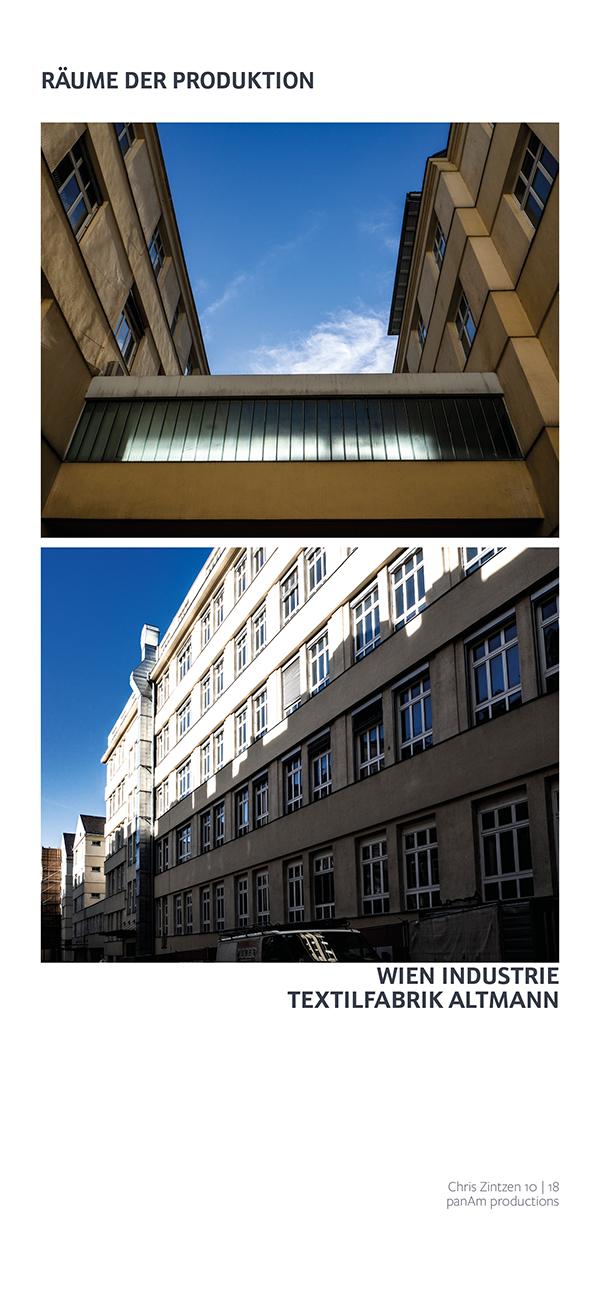 ⧇ Fleiss und Industrie ⧇ Textilfabrik Altmann 1050 Wien ⧇ Chris Zintzen | panAm productions
