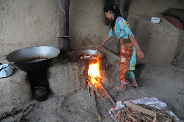 Ouzbékistan, Derbent, cuisine, © L. Gigout, 2012