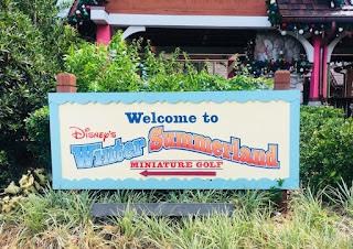 Disney's Winter Summerland Miniature Golf. Photo by Shelley Barrett 2018