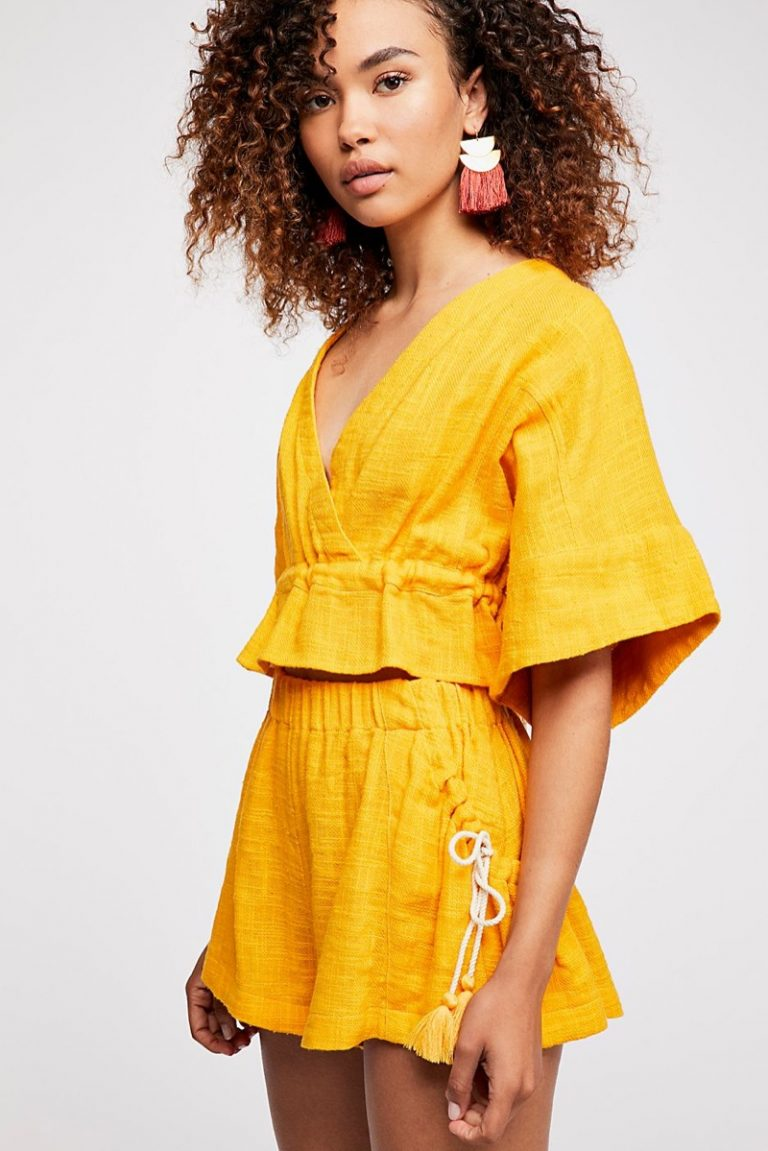 Free People Golden Girl Lookbook Summer 2018