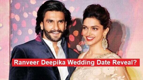 Ranveer Deepika wedding date