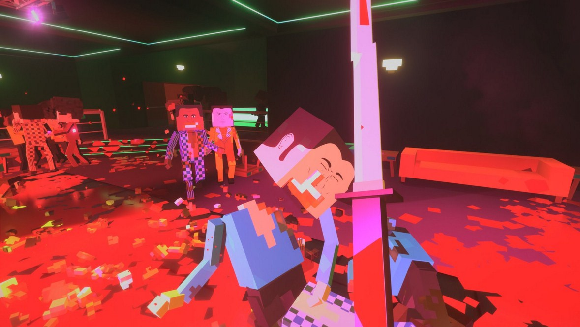 13 Oct 2015 ... Paint the Town Red is a chaotic first person melee combat game set in different  locations and time periods. The voxel-based enemies can be...