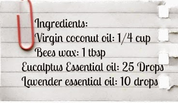 How to Make Natural Homemade Vick's Vapor Rub Recipe For