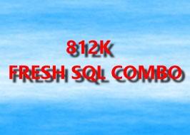 812K FRESH SQL COMBO