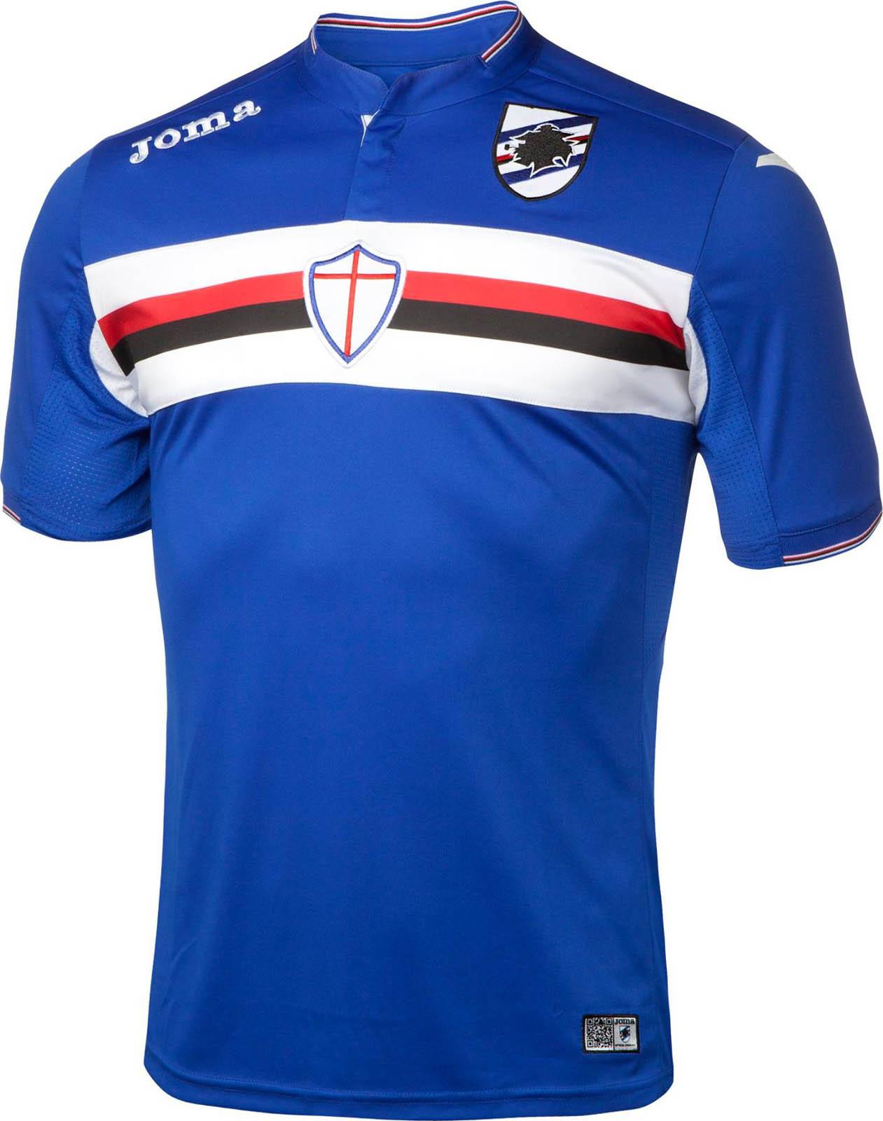 Sampdoria 15-16 Kits Released - Footy Headlines