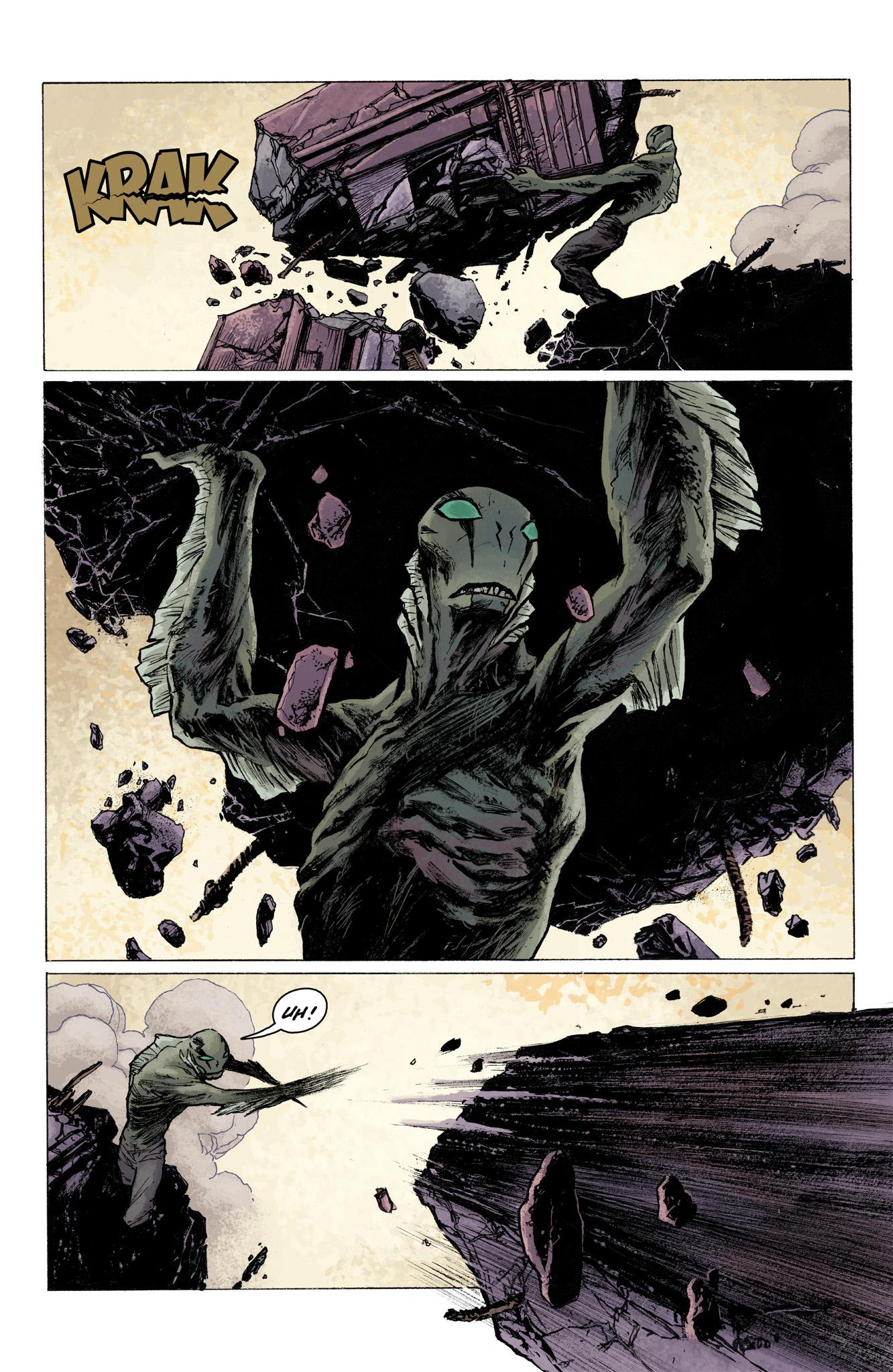 Read online Abe Sapien comic -  Issue #3 - 15