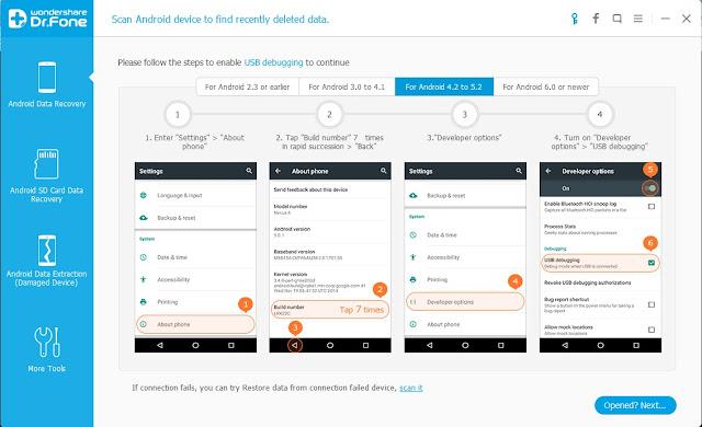 Cara Mengembalikan File Atau Data Yang Terhapus Di Android