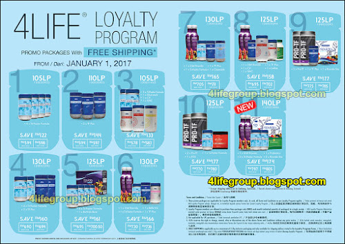 foto 4Life Loyalty Program Promo Packages 2017