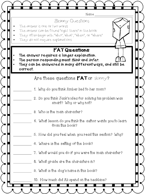 If you are looking for a worksheet that will help your students differentiate between higher-level and lower-level questions, feel free to download these FREE worksheets for your students!